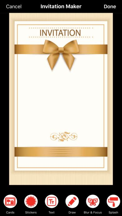 free invitation creator app invitation card maker on the app store
