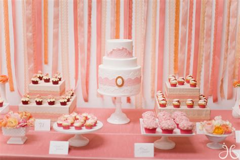 blush pink bridal shower decor inspired by my coral and blush pink los angeles bridal shower inspired by this