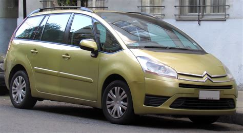 Picasso Citroen by File Citroen C4 Grand Picasso 2008 9397399996 Cropped