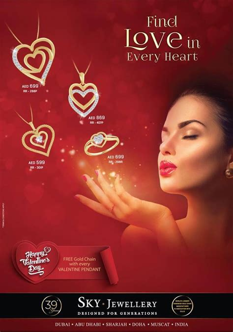 Valentines Offer At Collection by Sky Jewellery Uae Sale Offers Locations Store Info
