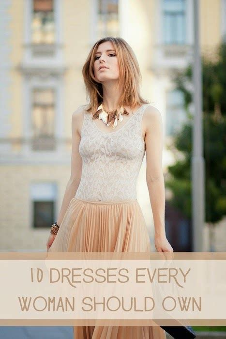 10 Dresses You Should Choose by Makeup Health 10 Dresses Every Should Own