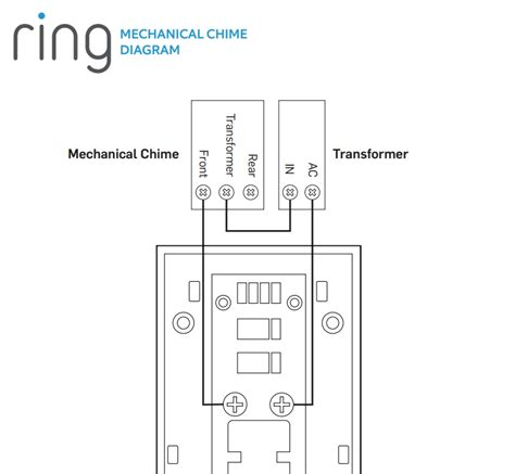 doorbell wiring diagram doorbell wires not labeled