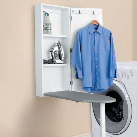 wall mounted ironing board cabinet wall mount ironing board cabinet