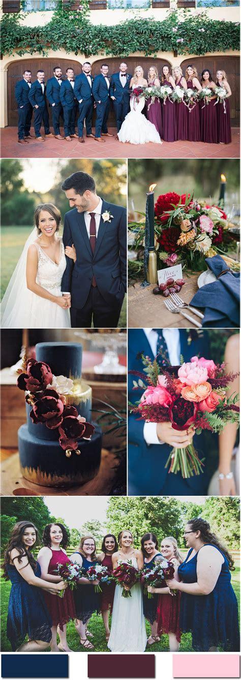 nobleness  eternity stunning navy blue wedding color