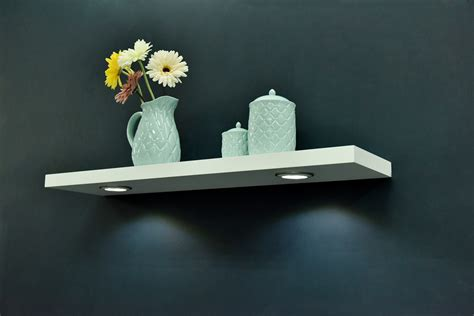 lighted floating shelves lighted floating shelves shelf beautiful white floating