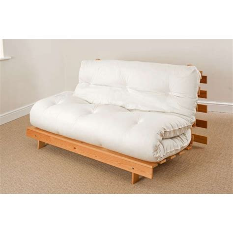 Using Futon As Bed by Luxury Filled Mattress 4ft 6 Futon Set