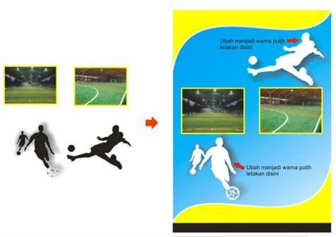 membuat brosur futsal membuat brosur promosi lapangan futsal dengan corel draw