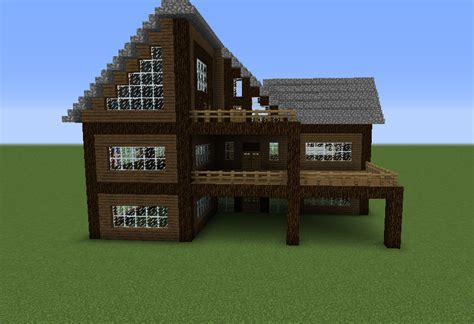 minecraft wooden house design wooden house 11 grabcraft your number one source for minecraft buildings