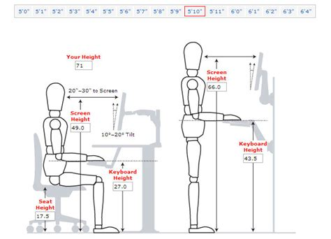 Standard Office Desk Height What S The Office Desk And Chair Height