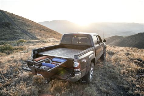 decked truck bed decked truck bed storage system is ready for mid size