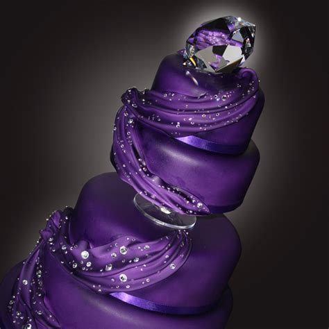 Wedding Cake Purple purple cake wedding cakes ipunya