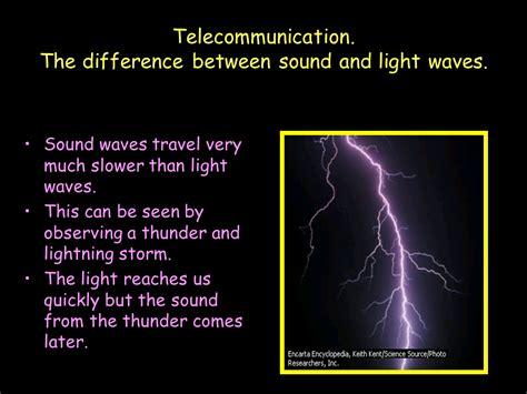 the sound and the telecommunication sound presentation physics sliderbase