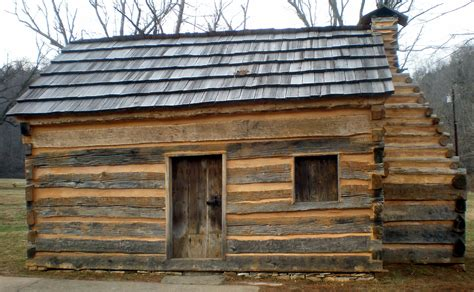 Abraham Lincolns Cabin by Abraham Lincoln Dr Omed S Tent Show Revival