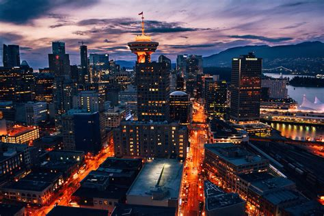 pictures of downtown bc early evening in downtown vancouver vancouver bc photos