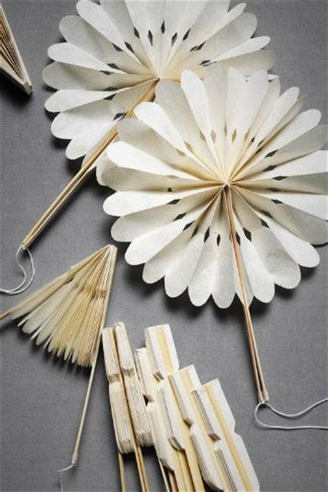 Make Your Own Paper Fan - popsicles wedding and summer on