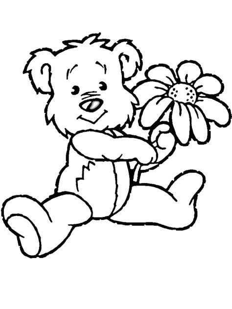 coloring pages free flowers march 2013 flower coloring page