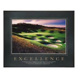 All motivational posters excellence golf motivational poster