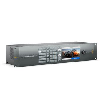 Blackmagic Design Smart Videohub 40x40 blackmagic design 12g 40x40 smart videohub ln63986 bmd