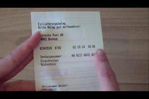 Post Beschwerde Brief Geöffnet Deutsche Post Beschwerde 252 Ber Zusteller Einreichen