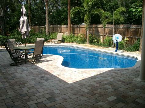 small inground pool ideas small inground swimming pool with the cleaner stroovi