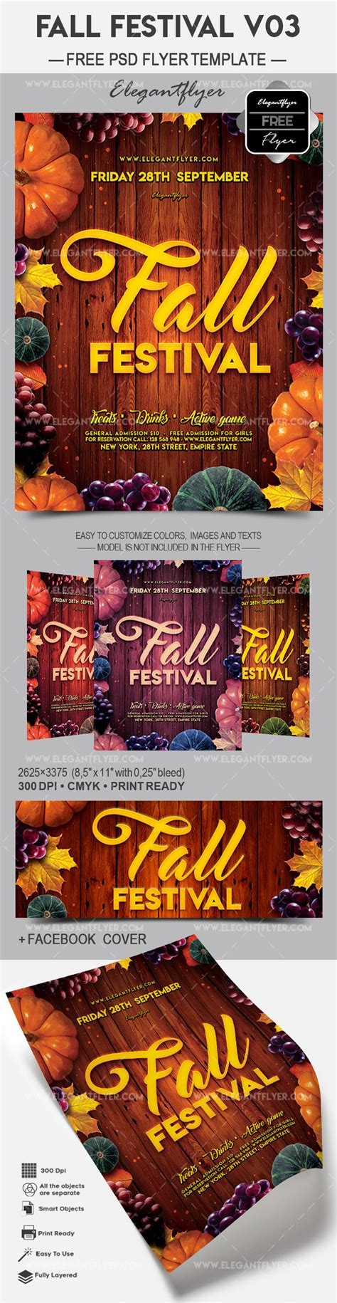 Free Festival Flyer Template Psd