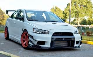 Mitsubishi Evo X Modified Otomalaya Modified Mitsubishi Lancer Evolution X With Varis