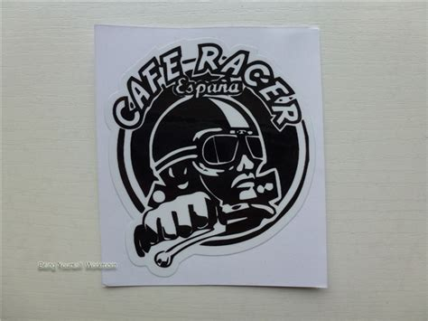 motocross helmet stickers aliexpress com buy cafe racer stickers retro