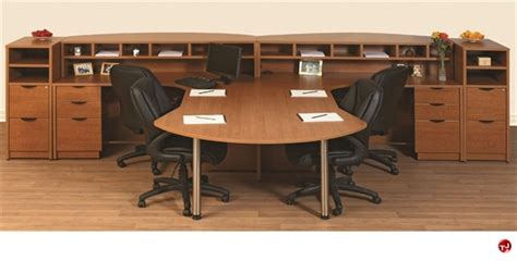 The Office Leader 2 Person L Shape Laminate Reception 2 Person L Shaped Desk