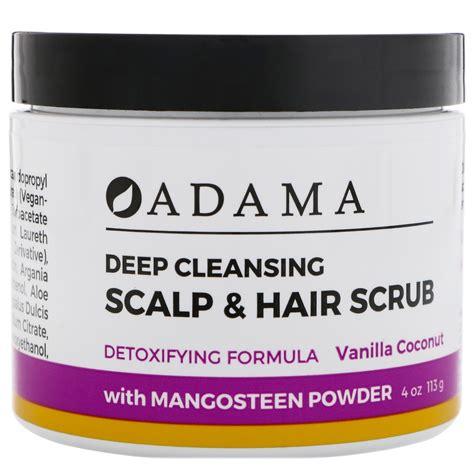 Scalp Detox With Coconut by Zion Health Adama Cleansing Scalp Hair Scrub