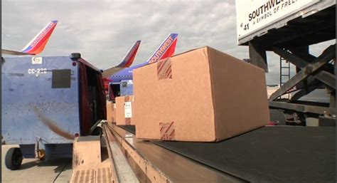 southwest airlines introduces new cargo tracking system