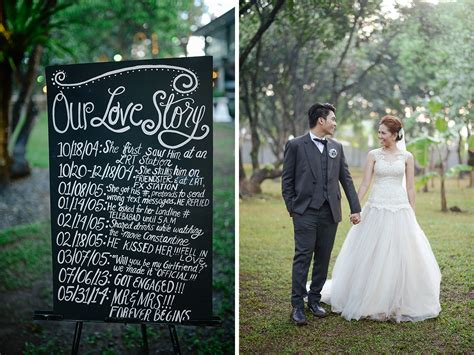 Wedding Story by Real Weddings Ian Pat S Story That S Made For The