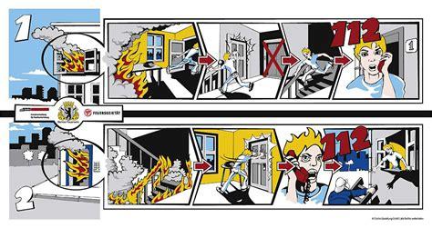 Wohnung Comic by Berliner Feuerwehr Verhalten Im Brandfall
