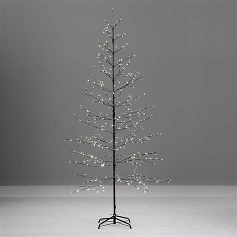 prelit snowy twig christmas tree outdoor fresh design john