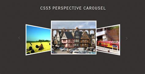 carrusel imagenes html javascript github pinceladasdaweb css3 perspective carousel an