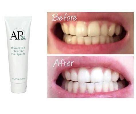 Dijamin Pasta Gigi Pemutih Ap 24 ap24 pasta gigi whitening fluoride toothpaste nu skin asli