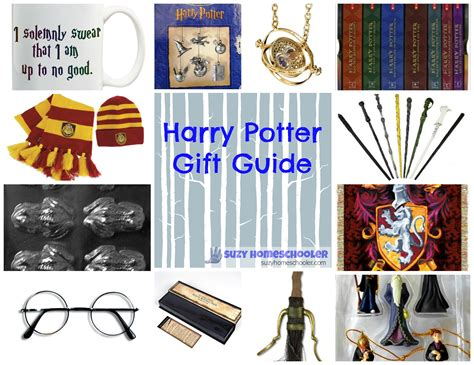 gift guide for the potterhead on your list suzy homeschooler