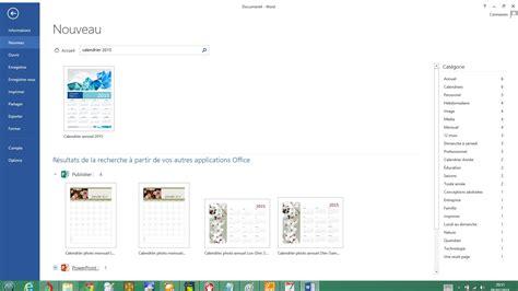 Calendrier Personnalise Cr 233 Er Un Calendrier Personnalis 233 Avec Microsoft Word