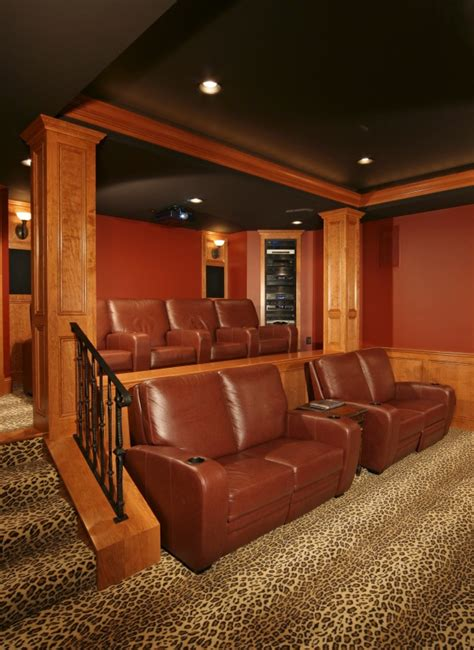 Home Theater Room Design Photo Theater Room Ideas On Theater Rooms Home