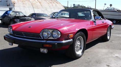 1989 jaguar xjs 12 cylinder 2 end of