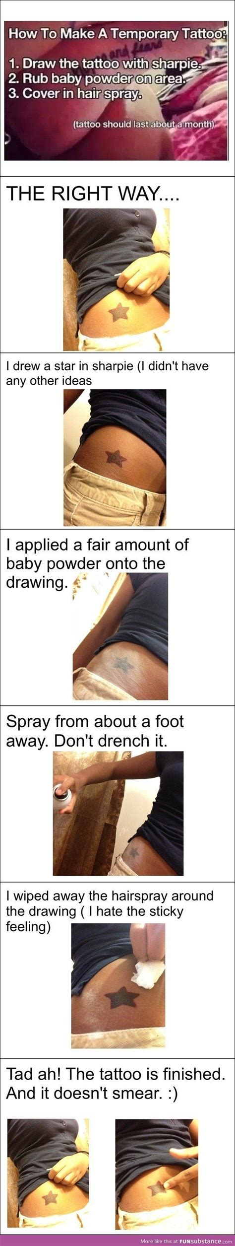 how to make sharpie tattoos last for who dont want a permanent you can make