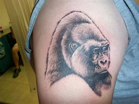 gorilla tattoo tribal list design june 2010