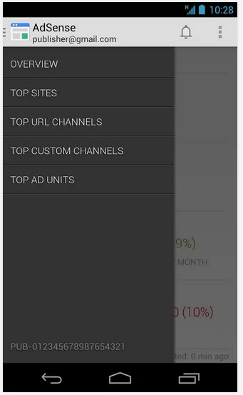 google adsense android app now available official google adsense app for android released download