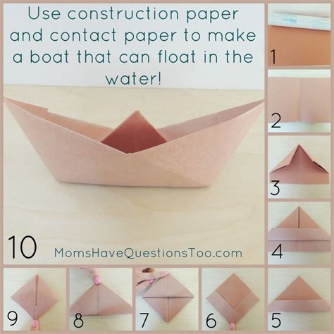 How To Make Paper Boats That Float On Water - best 25 pirate ship craft ideas on