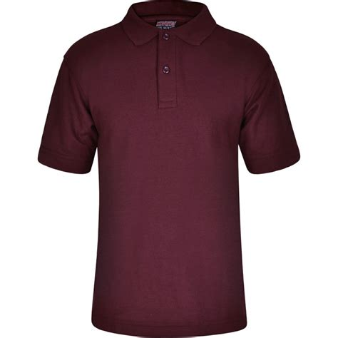 Oliveinch Polo Shirt Maroon M polo shirts innovation schoolwear