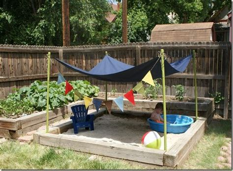 Backyard Sandbox Ideas Sandbox Backyard And Backyards On