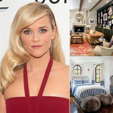 reese witherspoon s brentwood home in la popsugar home