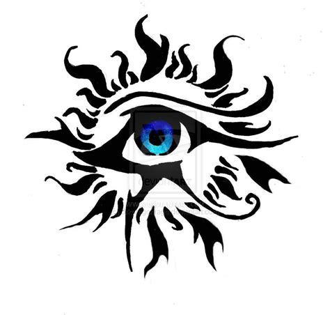 tribal eyes tattoo designs horus eye images designs