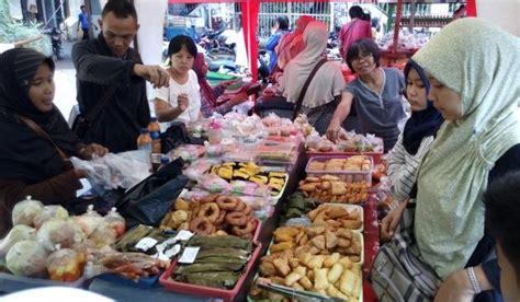 Ramen Di Pasar Lama Tangerang berburu takjil di pasar lama tangerang