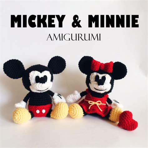 Mickey Mouse Crochet Pattern Free Studio Design 123paintcolor
