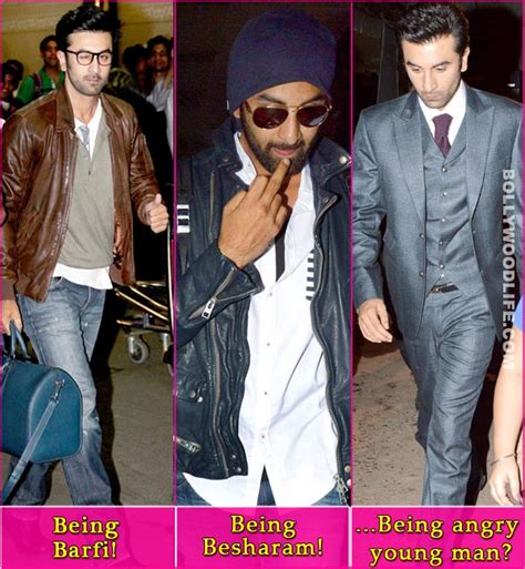 If I See Avril Finger The Paparazzi One More Time by Why Is Ranbir Kapoor Upset With The Paparazzi
